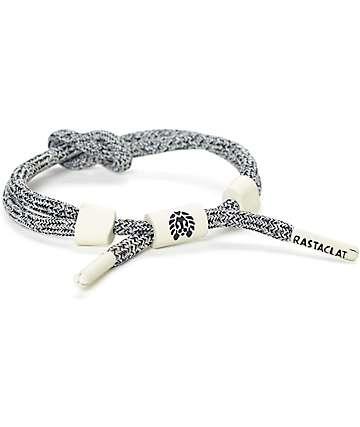 Rastaclat Wolfy Grey Knotclat Bracelet