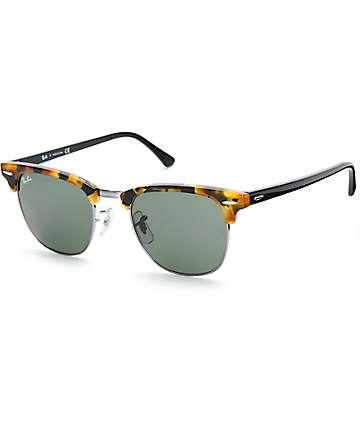 Ray-Ban Clubmaster Fleck Havana Sunglasses