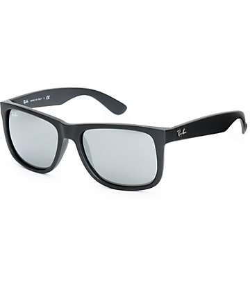 Ray-Ban Justin Grey Mirrored Sunglasses