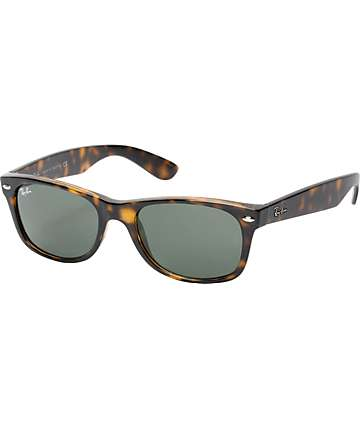 Ray-Ban New Wayfarer Brown Tortoise Sunglasses