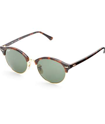 Ray-Ban Round Clubround Havana Tortoise Sunglasses
