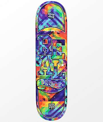 "Real Brock Bug Vision Full Low Pro II 8.25"" Skateboard Deck"