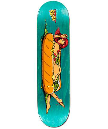 "Real Brock Hot Buns 8.12"" Skateboard Deck"