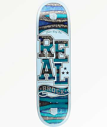 "Real Brock Spectrum Low Pro 8.5"" Skateboard Deck"
