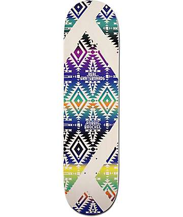 "Real Brockel Diamondback 8.06""  Skateboard Deck"