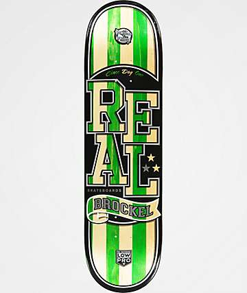 "Real Brockel Spliced Low Pro II 8.5"" Skateboard Deck"