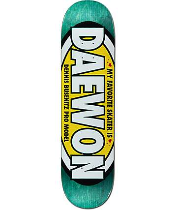 "Real Busenitz Favorite ""Daewon"" 8.0"" Skateboard Deck"