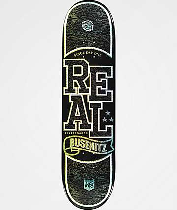 "Real Busenitz Low Pro II Holographic 8.06"" Skateboard Deck"
