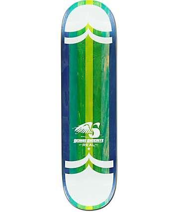 "Real Busenitz Spliced 8.25"" Skateboard Deck"