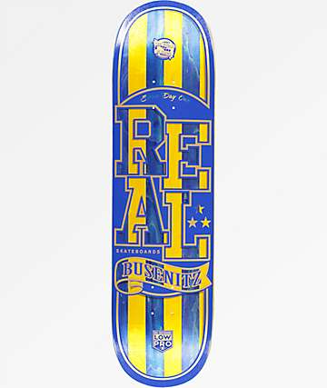 "Real Busenitz Spliced Low Pro II 8.38"" Skateboard Deck"