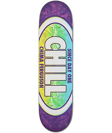 "Real Chima Chill Oval 8.125"" Skateboard Deck"
