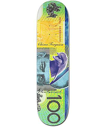 """Real Chima Green Soldier 8.06"""" Skateboard Deck"""