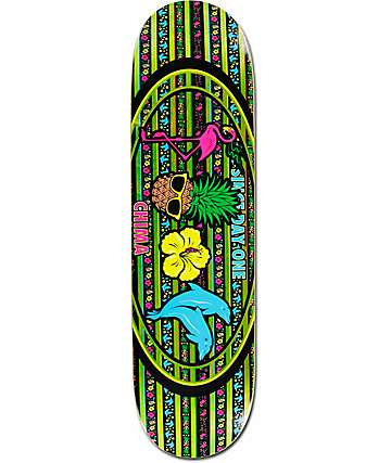 "Real Chima Icon Oval 8.5"" Skateboard Deck"
