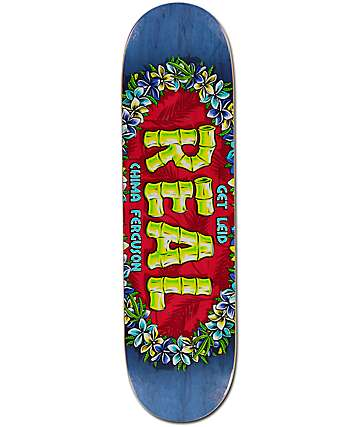 "Real Chima Oval Lei'd 8.38"" Skateboard Deck"