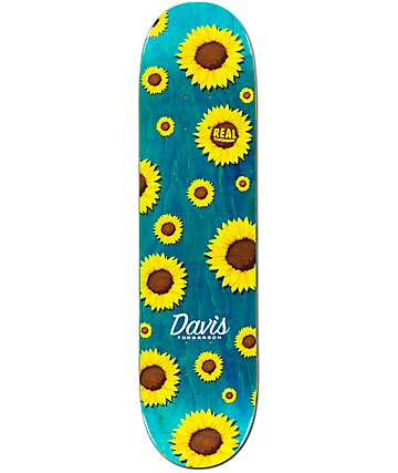 "Real Davis Full Bloom 8.0625"" Skateboard Deck"