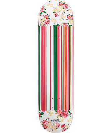 "Real Davis Ornate Oval 8.38"" Skateboard Deck"