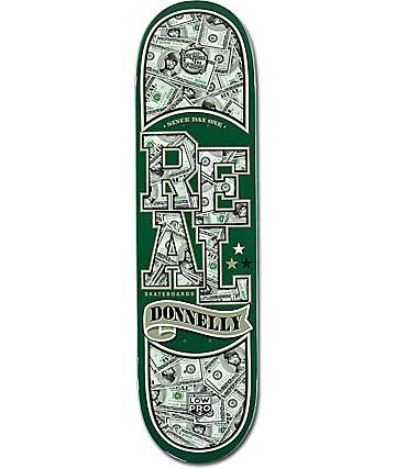 "Real Donnelly Bankroll Low Pro II 8.18"" Skateboard Deck"