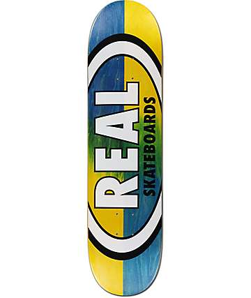 "Real Double Dipped 8.06"" Skateboard Deck"