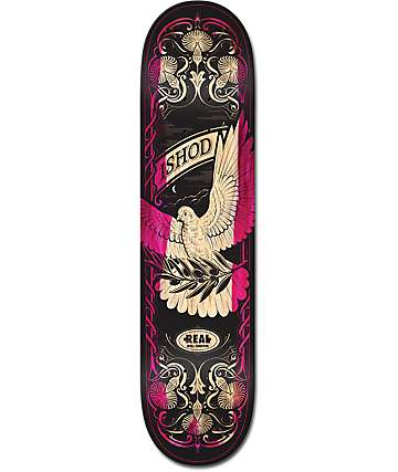 "Real Ishod Fight Or Flight 8.0"" Skateboard Deck"