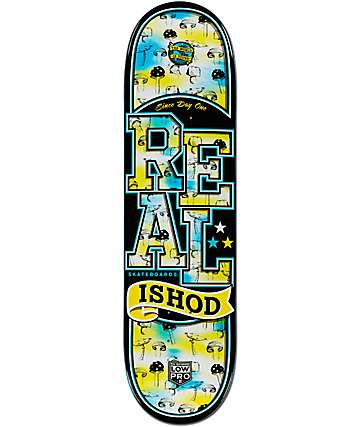"Real Ishod Fun Guy Low Pro II 8.25"" Skateboard Deck"