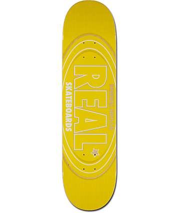 "Real Renewal Oval 8.06"" tabla de skate"