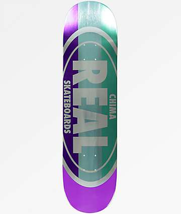 "Real Shine Oval Chima 8.06"" Skateboard Deck"