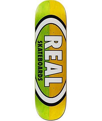 "Real Team Two Tone Oval 8.25"" tabla de skate"