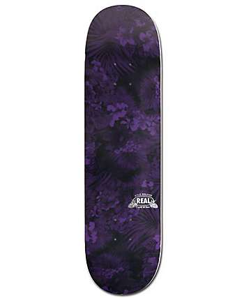 "Real Walker Blackout Slick 8.25""  Skateboard Deck"