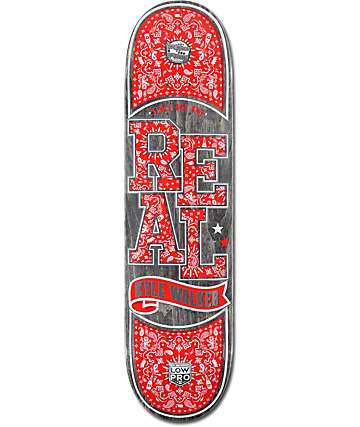 "Real Walker Paisley Low Pro II 8.06""  Skateboard Deck"