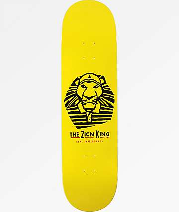 "Real Zion King 8.25"" Skateboard Deck"