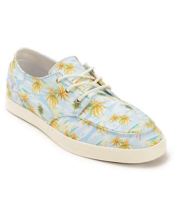 Reef Deck Hand 2 Light Blue Aloha Boat Shoes