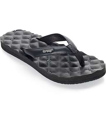 Reef Dreams Black Sandal