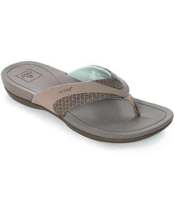 Reef Energy sandalias en gris y gris pardo