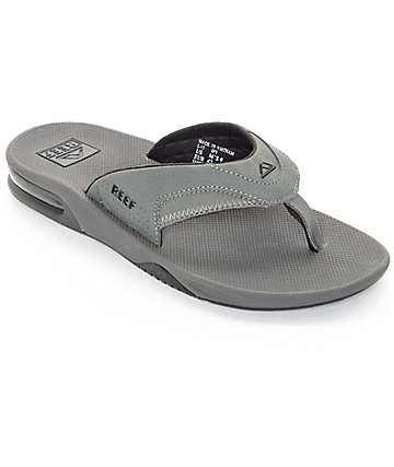 Reef Fanning Grey Sandals