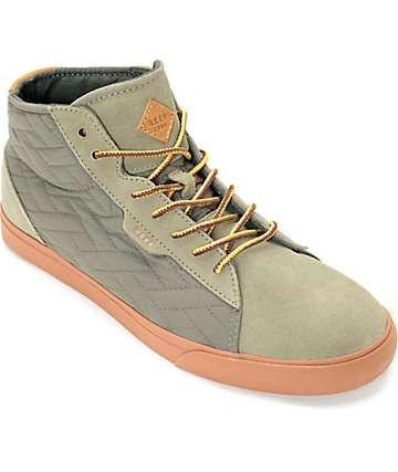 Reef Ridge Mid TX Olive & Gum Shoes