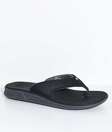 Reef Rover Black & Gum Sandals