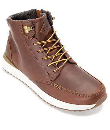 Reef Rover Brown Full Grain Leather Boots