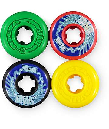 Ricta Sparx Rasta 53mm Skateboard Wheels