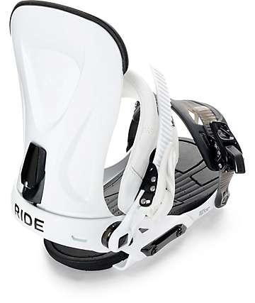 Ride Snowboards Revolt fijaciones de snowboard en blanco