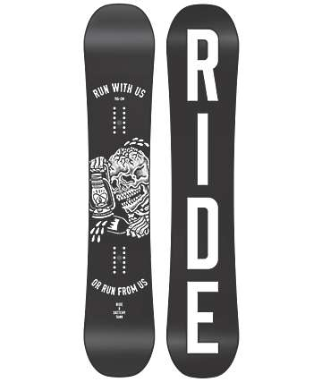 Ride X Sketchy Tank Burnout 155cm Snowboard