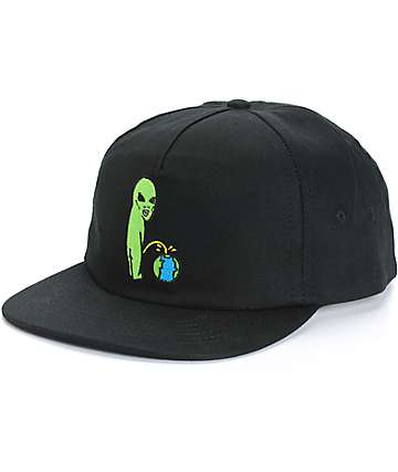 Rip N Dip Earth Sucks Snapback Hat
