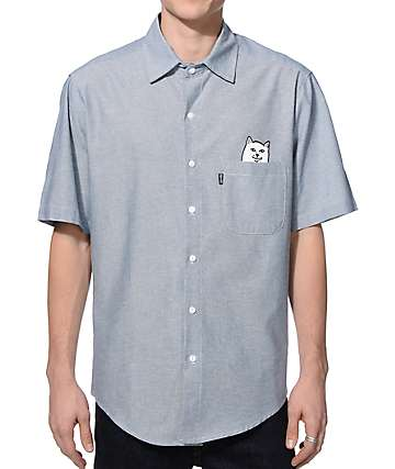 Rip N Dip Lord Nermal Button Up Shirt