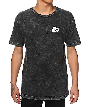 Rip N Dip Lord Nermal camiseta teñida anudado con bolsillo