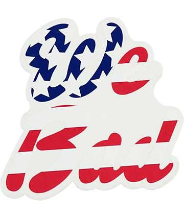 Rip N Dip We Bad Flag Sticker