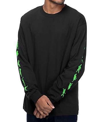 RipNDip Alien Dance Party Black Long Sleeve T-Shirt
