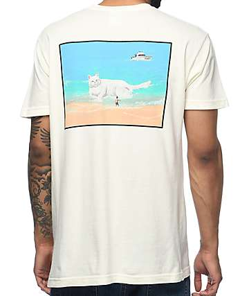 RipNDip Beached Nermal Natural Pocket T-Shirt