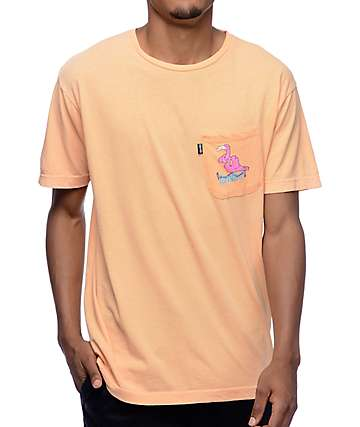 RipNDip Can You Not Flamingo Orange T-Shirt