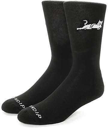 RipNDip Castanza Black Crew Socks