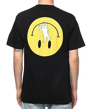 RipNDip Everything'll Be Ok camiseta negra con bolsillo