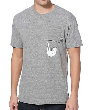 RipNDip Falling For Nermal Pocket T-Shirt